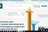 Один из разработанных сайтов