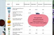 Примеры работ в Excel