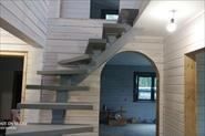 Полная покраска дома внутри,стены,окна,лестница.