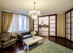 Интерьерная фотосъемка трехкомнатной квартиры