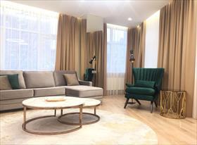 Реализованный проект апартаментов на Новом Арбате, 130 кв.м.