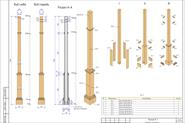 Деталировка МАФ сборка колоны