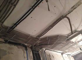 Черновой монтаж эл проводки в квартире