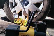 Подкачка колёс с выездом.