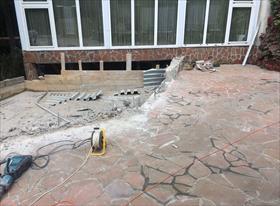 Демонтаж бетонной
