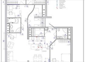 Планировочные решения, расстановка мебели, внутренние инженерные сети