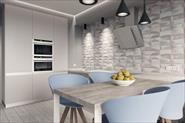 Дизайн квартиры в серых тонах