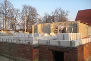 постройка дома из пеноблока