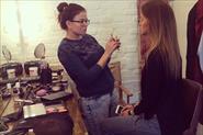 backstage #xardzi_makeup