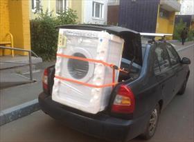 Перевозки грузов легковым автомобилем