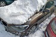 Вызволить авто из льда и снега.