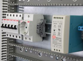 Пример съёмки электро оборудования