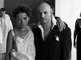 Поженились (фотопроект) с участием непрофессиональных актеров