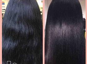Лечение и выпрямление волос