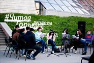 Техническое обеспечение городского литературного фестиваля «Читай Горький 2015» на территории Нижегородского Кремля