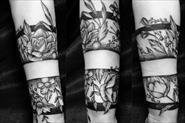 Работы мастеров тату студии
