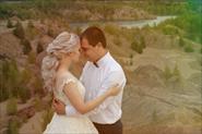 Свадебная фотосессия бирюзовое озеро