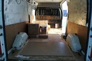 Перевозка шкафа и стульев (от склада до клиентов).