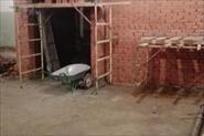 Кирпичная кладка, штукатурка стен под маяк