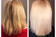 Ботокс на осветлённый блонд