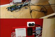 Примеры Cable management (кабель-менеджмент)