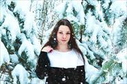Зимняя обработка фотографии.