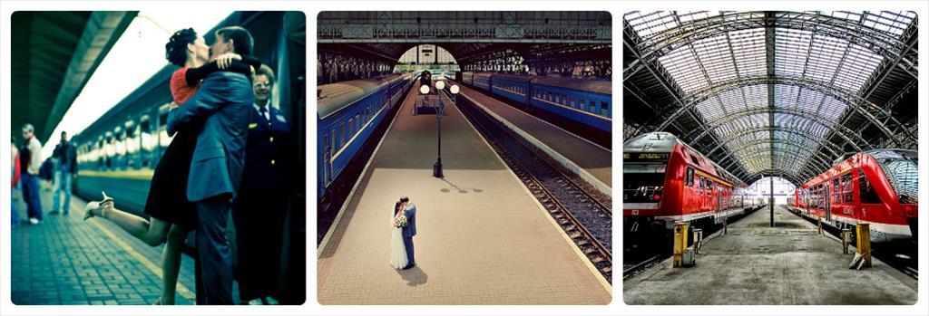 фотосессия на железной дороге девушек
