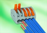 Как соединить провода разного сечения?