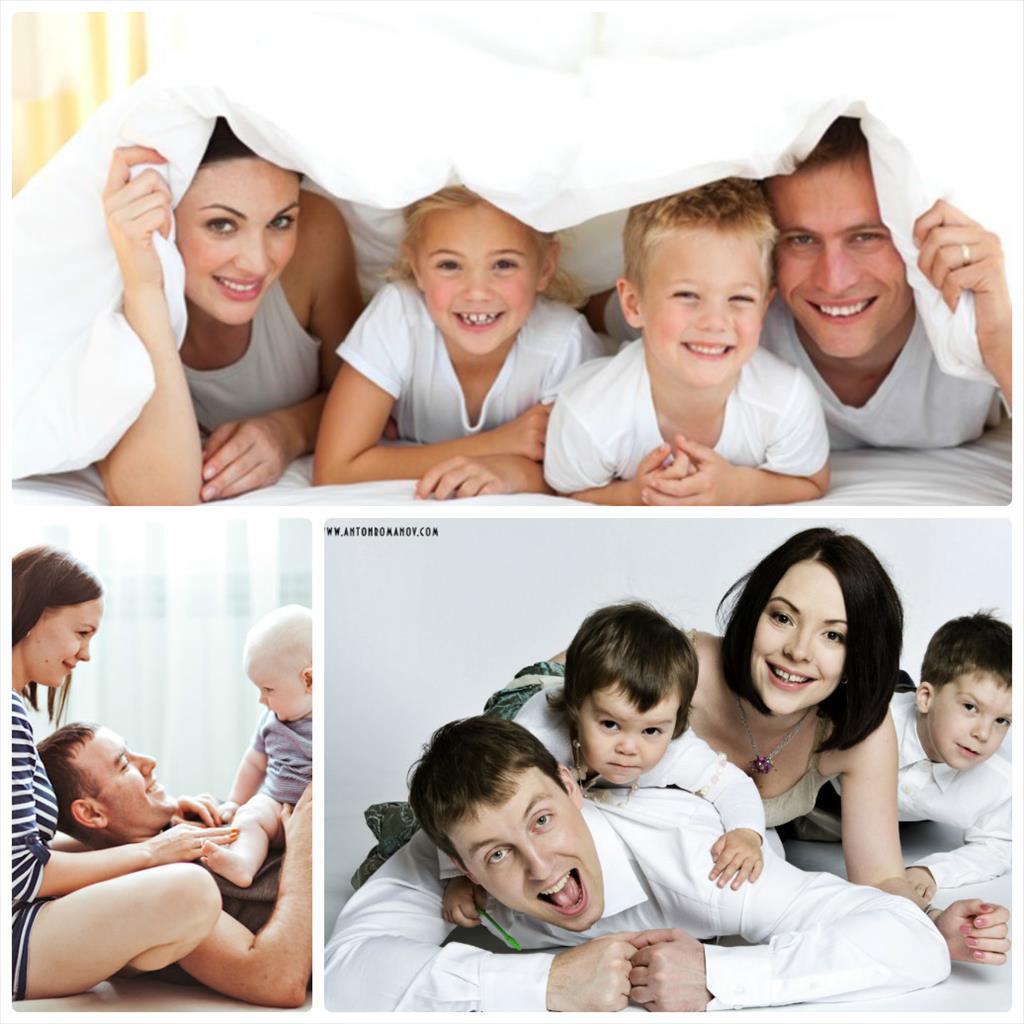 фотосессия семьи с маленьким ребенком